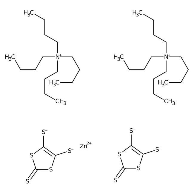 Bis(tetrabutylammonium) Bis(1,3-dithiole-2-thione-4,5-dithiolato)zinc Complex 98.0+%, TCI America™