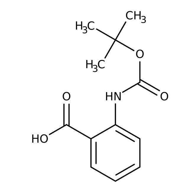 Alfa Aesar™2-(Boc-amino)benzoesäure, 98% 5g Alfa Aesar™2-(Boc-amino)benzoesäure, 98%