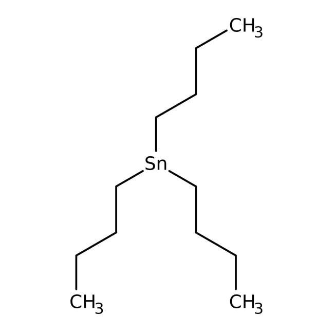 Hidruro de tri-n-butilestaño, 97%, ACROS Organics™ 50g; frasco de vidrio Hidruro de tri-n-butilestaño, 97%, ACROS Organics™
