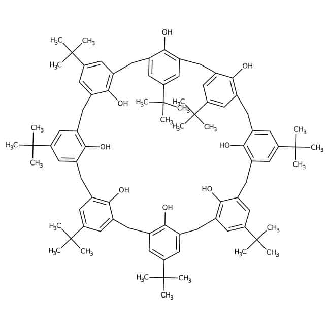 4-tert-Butylcalix[8]arene, 97%, ACROS Organics™