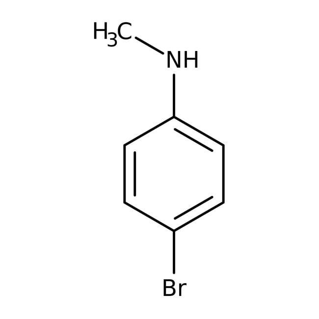 Alfa Aesar™4-Bromo-N-methylaniline, 97%