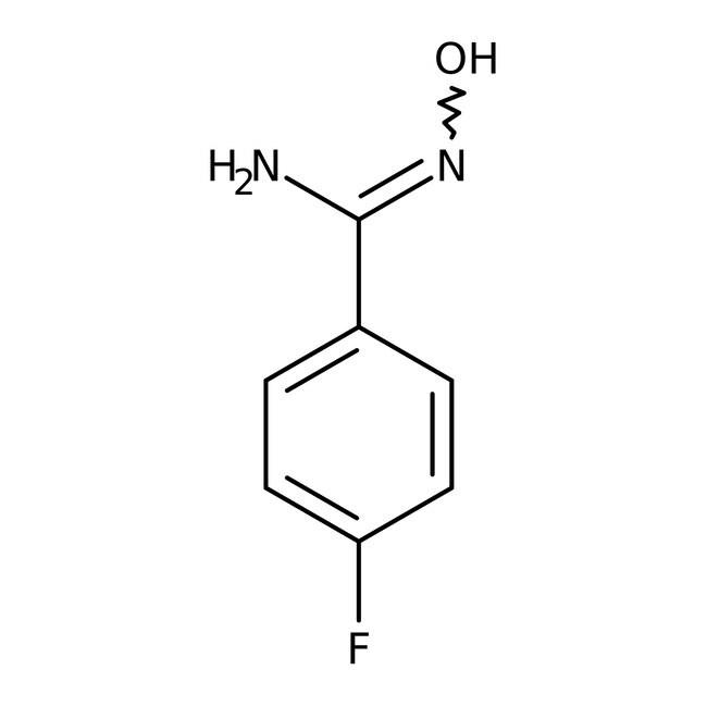 4-Fluorobenzamidoxime, 98%, ACROS Organics™ 1g; Glass bottle prodotti trovati