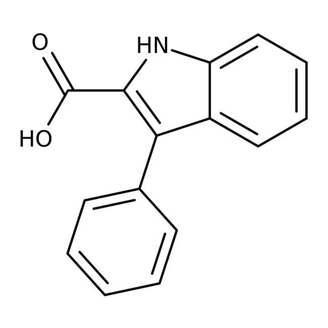 Alfa Aesar™3-Phenylindole-2-carboxylic acid, 97% 250mg Alfa Aesar™3-Phenylindole-2-carboxylic acid, 97%