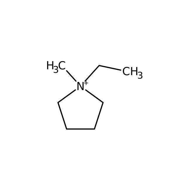 Alfa Aesar™1-Ethyl-1-methylpyrrolidinium bromide, 98%: Chemicals Ver productos