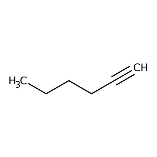 1-Hexyne, 98%, ACROS Organics™ 25mL; Glass bottle 1-Hexyne, 98%, ACROS Organics™