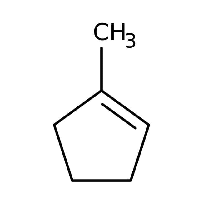 1-Methyl-1-cyclopentene, 96%, ACROS Organics™: Unsaturated hydrocarbons Hydrocarbons