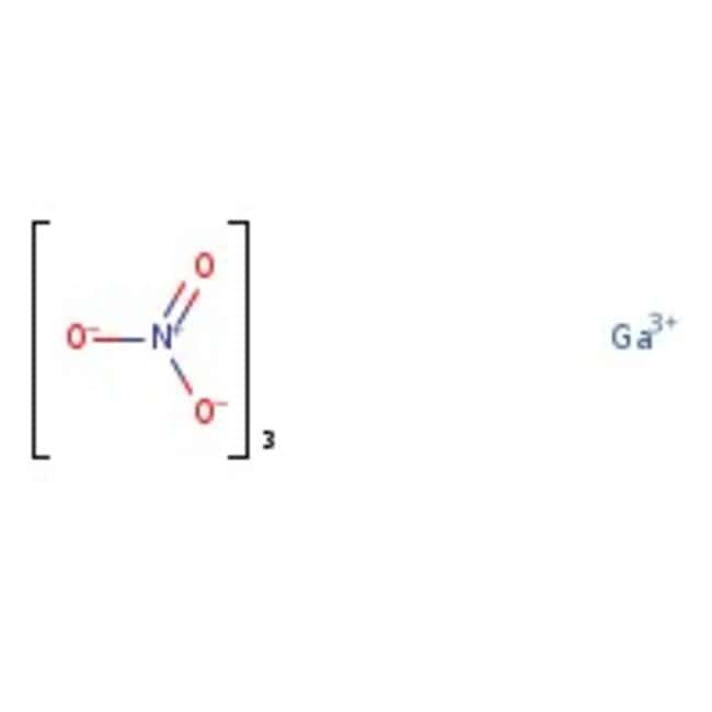 Gallium(III) nitrate hydrate, 99.9998%, (trace metal basis), ACROS Organics™ 1g; Glass bottle Gallium(III) nitrate hydrate, 99.9998%, (trace metal basis), ACROS Organics™