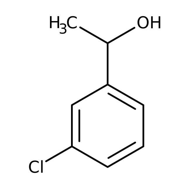 Alfa Aesar™1-(3-Chlorophenyl)ethanol, 97% 25g Alfa Aesar™1-(3-Chlorophenyl)ethanol, 97%