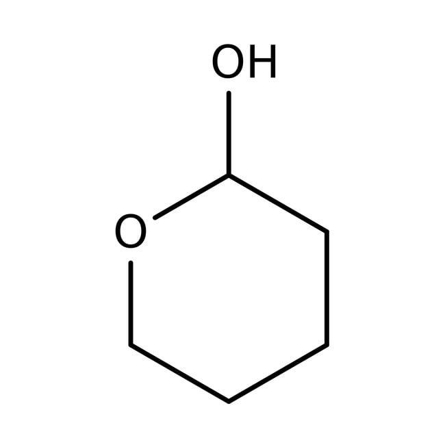 Tetrahydro-2H-pyran-2-ol, 90%, cyclized form of 5-Hydroxypentanal, ACROS Organics
