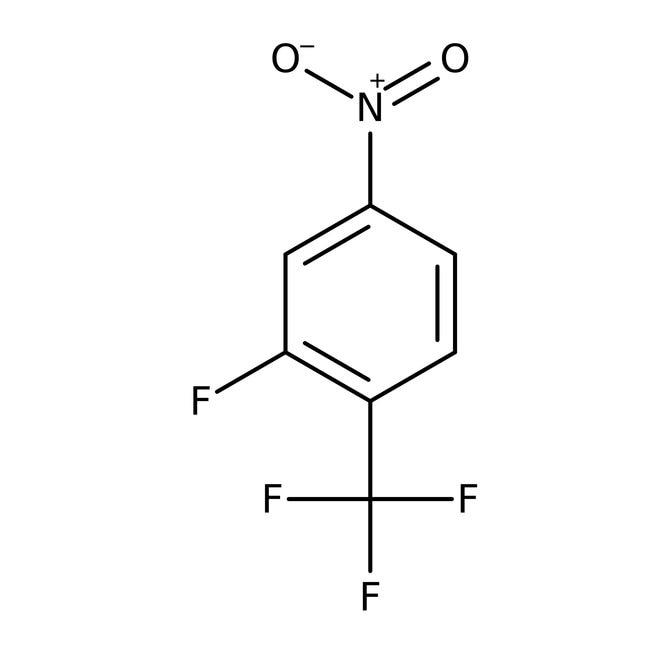 Alfa Aesar™2-Fluoro-4-nitrobenzotrifluoride, 98% 5g Alfa Aesar™2-Fluoro-4-nitrobenzotrifluoride, 98%