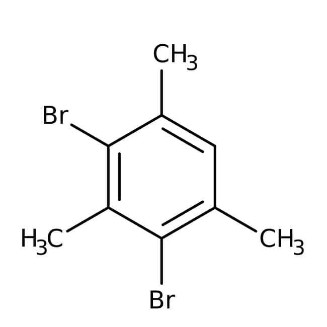 Alfa Aesar™2,4-Dibromomesitileno, 98% 100g Alfa Aesar™2,4-Dibromomesitileno, 98%