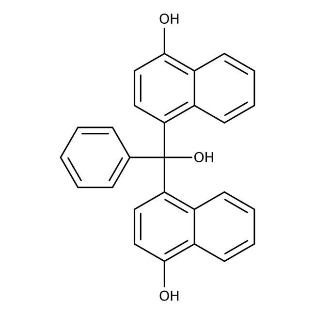 Bis-(4-hydroxy-1-naphthyl)phenylmethanol, ACROS Organics™
