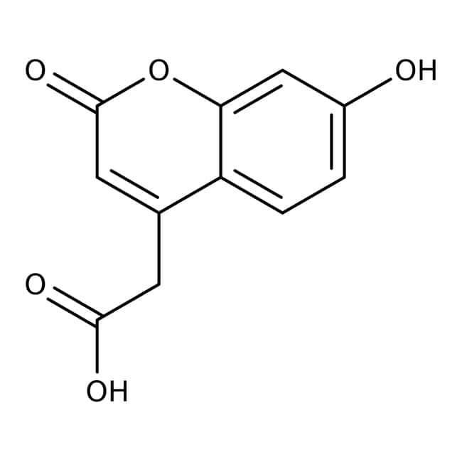 7-Hydroxycoumarinyl-4-acetic acid, 97%, Acros Organics: Hydroxycoumarins Coumarins and derivatives