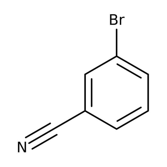 3-Bromobenzonitrile, 99%, ACROS Organics™ 100g 3-Bromobenzonitrile, 99%, ACROS Organics™