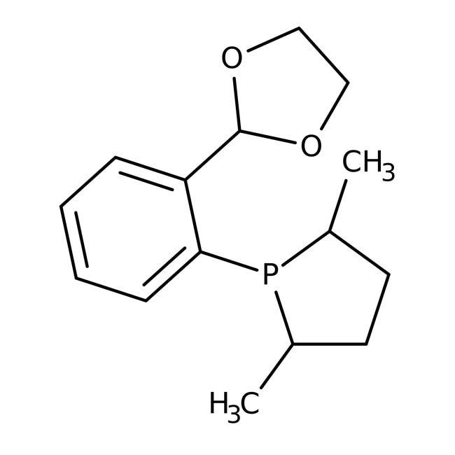 (2S,5S)-1-(2-(1,3-Dioxolan-2-yl)phenyl)-2,5-dimethylphospholane, 97%, ACROS Organics™