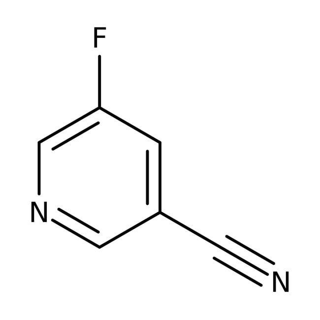 Alfa Aesar™3-Cyano-5-fluoropyridine, 97% 1g Alfa Aesar™3-Cyano-5-fluoropyridine, 97%
