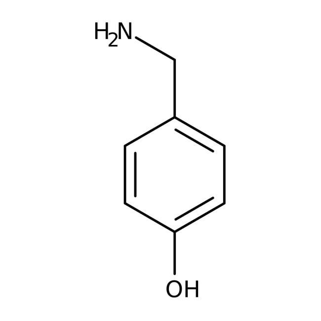 4-Hydroxybenzylamine hydrate, 97%, ACROS Organics™ 5g; Glass bottle prodotti trovati