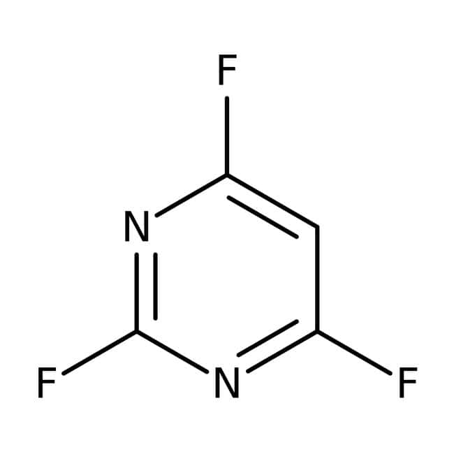 Alfa Aesar™2,4,6-trifluoropyrimidine, 98% 5g Alfa Aesar™2,4,6-trifluoropyrimidine, 98%