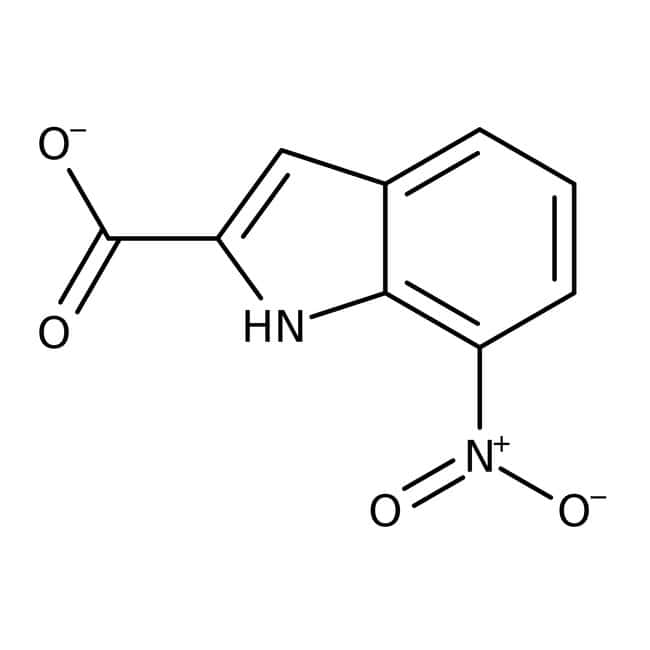 7-Nitroindole-2-carboxylic acid, 90%, Maybridge Amber Glass Bottle; 10g 7-Nitroindole-2-carboxylic acid, 90%, Maybridge