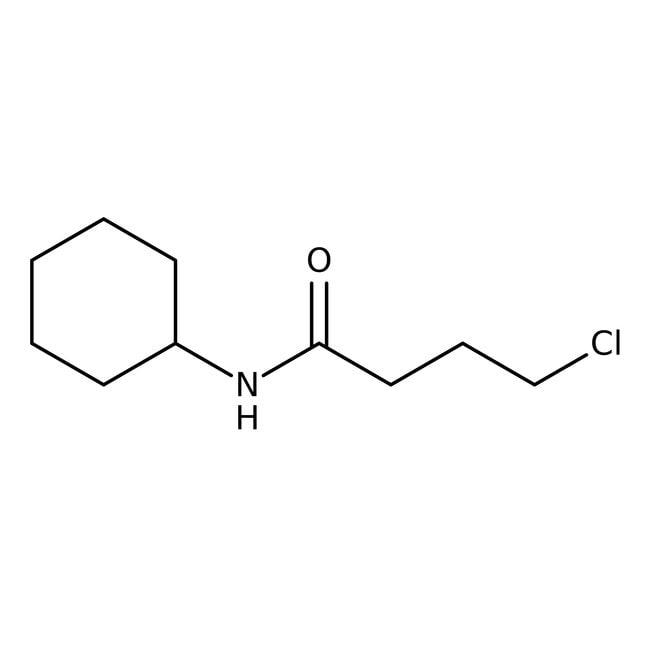 Alfa Aesar™4-Chloro-N-cyclohexylbutyramide, 97% 250mg Alfa Aesar™4-Chloro-N-cyclohexylbutyramide, 97%