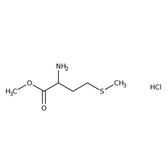 Alfa Aesar™D-Methionine methyl ester hydrochloride, 98% 100g Alfa Aesar™D-Methionine methyl ester hydrochloride, 98%