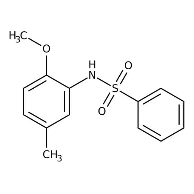Alfa Aesar™N-(2-Methoxy-5-methylphenyl)benzenesulfonamide, 97%