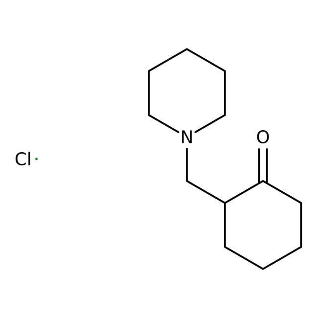 2-(Piperidylmethyl)-1-cyclohexanone hydrochloride, 98%, ACROS Organics