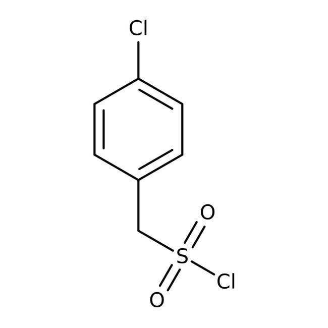 Alfa Aesar™Chlorure de 4-chloro-alpha-toluènesulfonyle, 97% 5g Alfa Aesar™Chlorure de 4-chloro-alpha-toluènesulfonyle, 97%