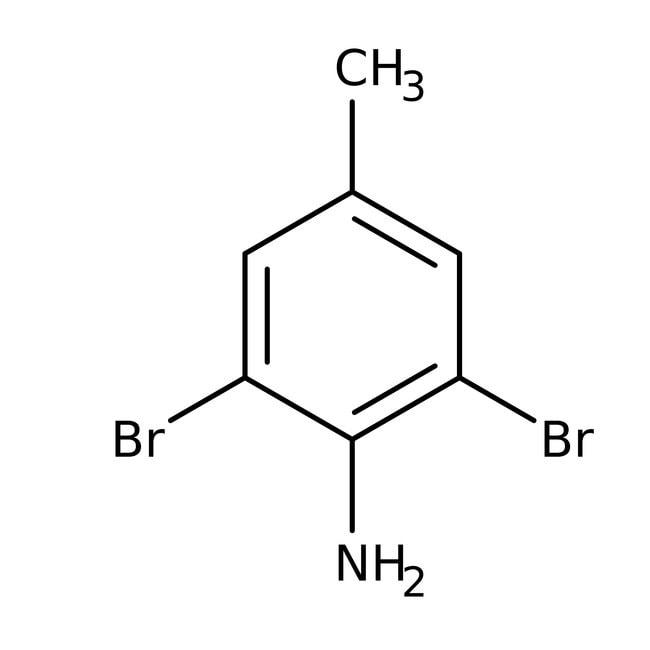 Alfa Aesar™2,6-Dibromo-4-metilanilina, +98 % 100g Alfa Aesar™2,6-Dibromo-4-metilanilina, +98 %