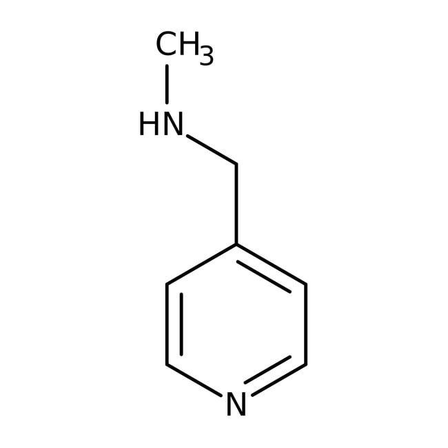 N-Methyl-N-(4-pyridylmethyl)amine, 97+%, Maybridge™ Amber Glass Bottle; 10g N-Methyl-N-(4-pyridylmethyl)amine, 97+%, Maybridge™