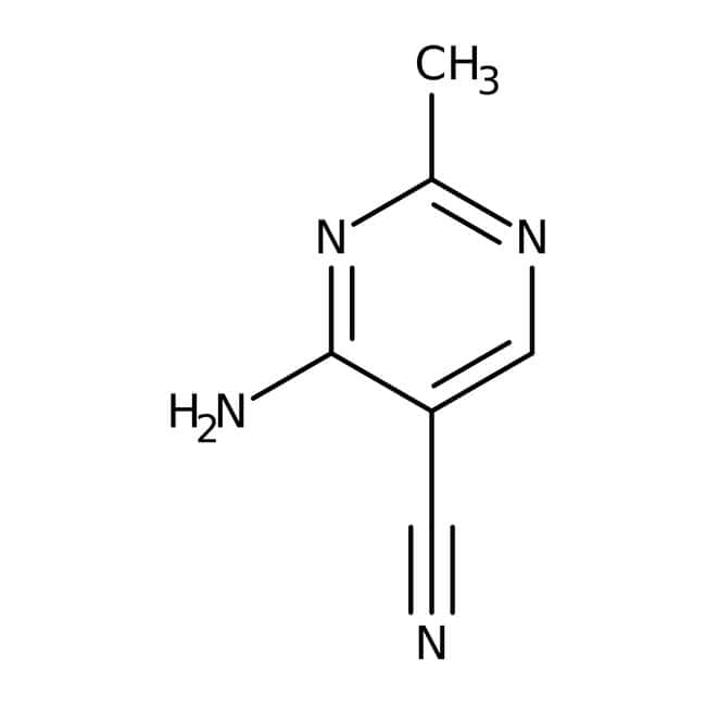 Alfa Aesar™4-Amino-5-cyano-2-methylpyrimidine, 95% 250mg Alfa Aesar™4-Amino-5-cyano-2-methylpyrimidine, 95%