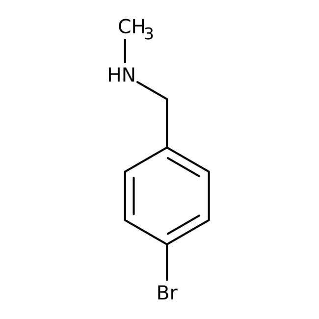 Alfa Aesar™4-Bromo-N-methylbenzylamine, 97%