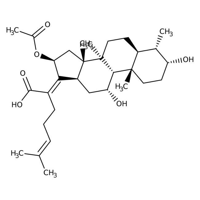 Fusidic acid, 98%, Acros Organics™: Steroids and steroid