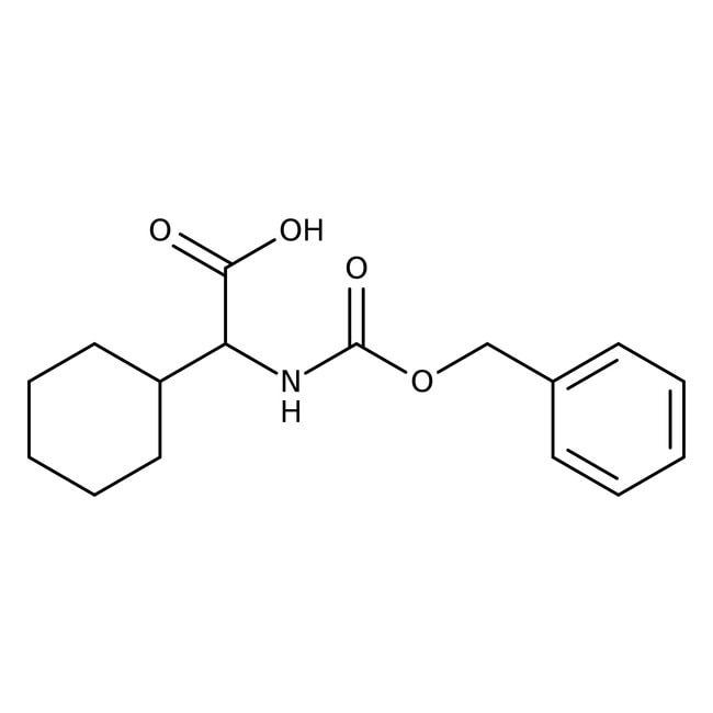 Alfa Aesar™N-Benzyloxycarbonyl-L-2-cyclohexylglycine, 95% 5g Alfa Aesar™N-Benzyloxycarbonyl-L-2-cyclohexylglycine, 95%