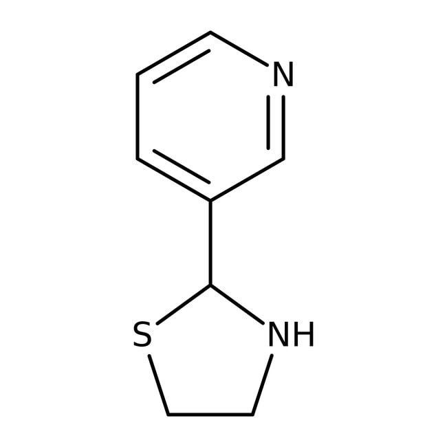 Alfa Aesar™2-(3-Pyridyl)thiazolidine, 97% 5g Alfa Aesar™2-(3-Pyridyl)thiazolidine, 97%