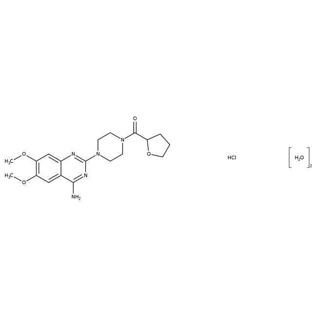 Terazosin hydrochloride dihydrate, 98%, ACROS Organics