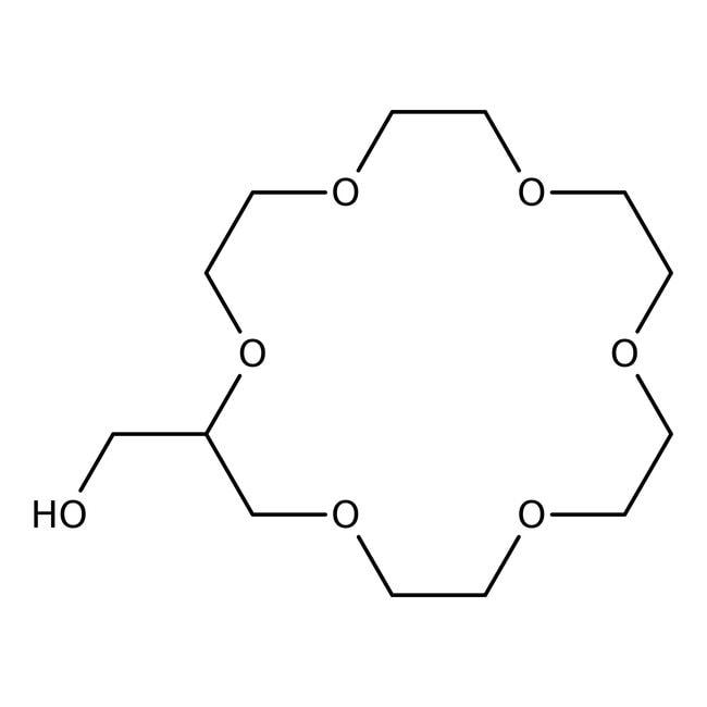 Alfa Aesar™2-Hydroxymethyl-18-crown-6, 97%