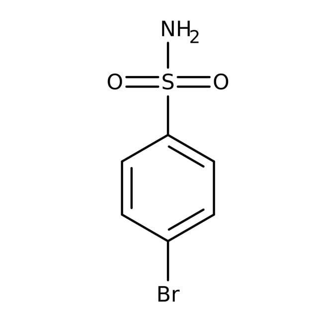 Alfa Aesar™4-Bromobenzenesulfonamide, 98% 1g Alfa Aesar™4-Bromobenzenesulfonamide, 98%