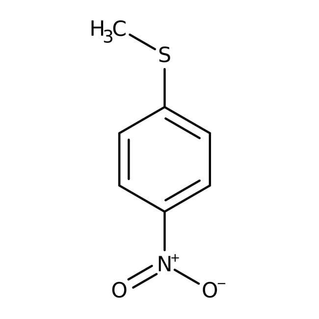 Alfa Aesar™4-Nitrothioanisole, 98% 25g Alfa Aesar™4-Nitrothioanisole, 98%