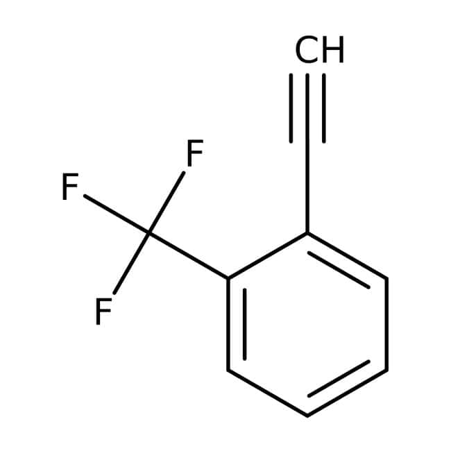 Alfa Aesar™2-(Trifluoromethyl)phenylacetylene, 97%
