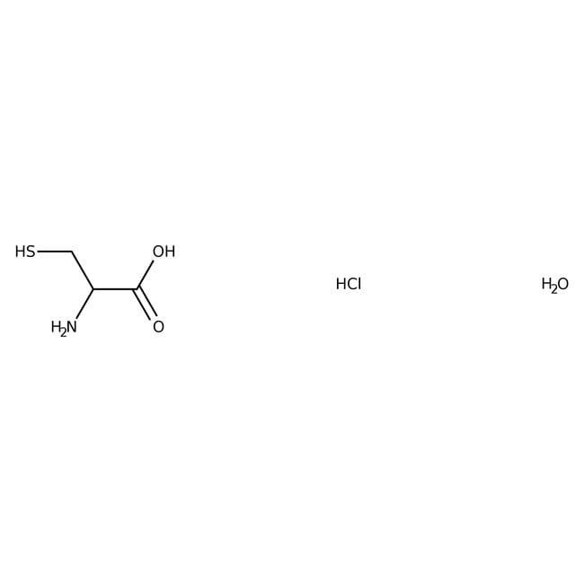 L-Cysteine Hydrochloride, Monohydrate, Multi-Compendial, U.S.P., J.T.Baker™ 100g; Poly Bottle L-Cysteine Hydrochloride, Monohydrate, Multi-Compendial, U.S.P., J.T.Baker™