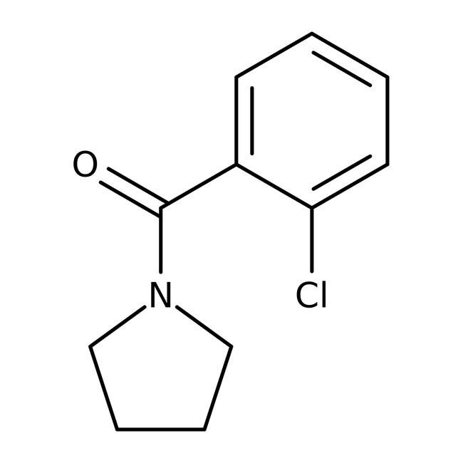 Alfa Aesar™1-(2-Chlorobenzoyl)pyrrolidine, 97% 250mg Alfa Aesar™1-(2-Chlorobenzoyl)pyrrolidine, 97%