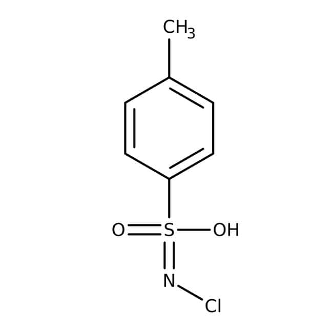 Chloramine-T, Sodium Salt, Extra Pure, SLR, meets analytical specification of Ph.Eur., BP, Fisher Chemical™: Other Inorganic Compounds Chemicals