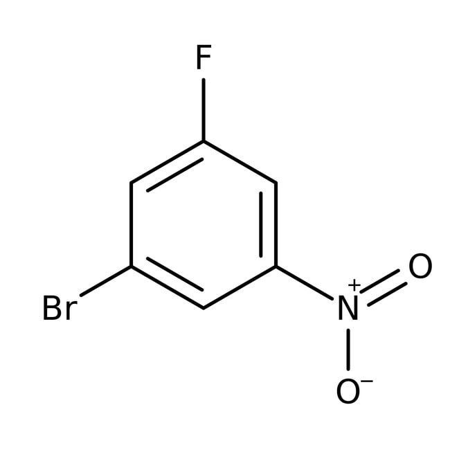 Alfa Aesar™1-Bromo-3-fluoro-5-nitrobenzene, 98%