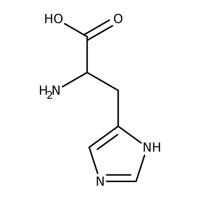 L-Histidine, free base, ≥99%, MP Biomedicals™ 100g L-Histidine, free base, ≥99%, MP Biomedicals™