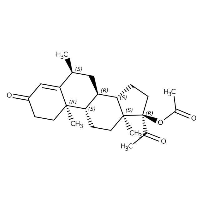 Medroxyprogesterone acetate, 97%, ACROS Organics™ 1g Medroxyprogesterone acetate, 97%, ACROS Organics™