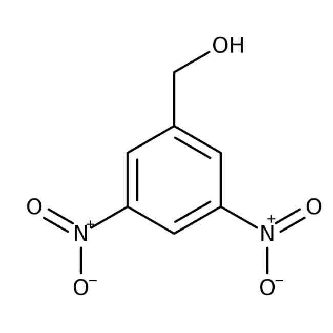 Alfa Aesar™3,5-Dinitrobenzylalkohol, 98% 25g Alfa Aesar™3,5-Dinitrobenzylalkohol, 98%
