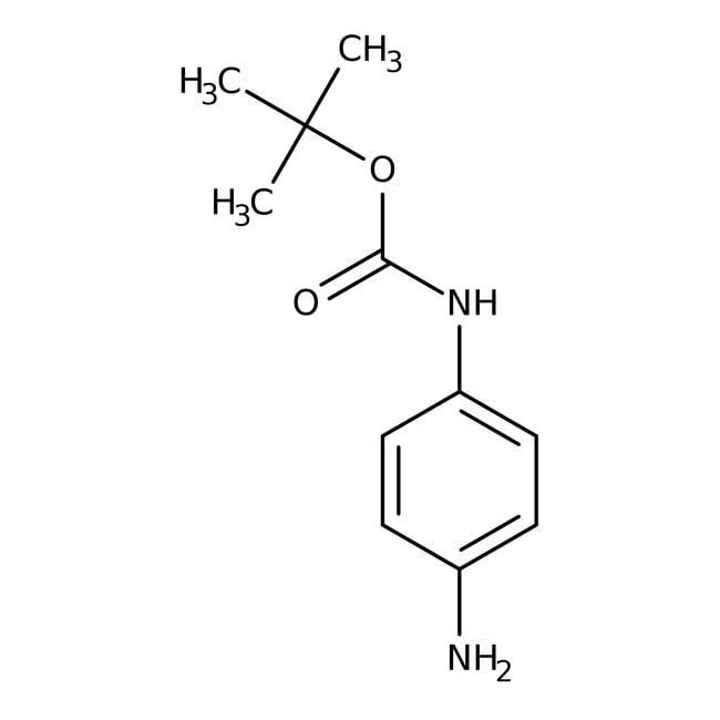 N-BOC-p-phenylendiamin, 97%, ACROS Organics™ 25 g-Glasflasche N-BOC-p-phenylendiamin, 97%, ACROS Organics™