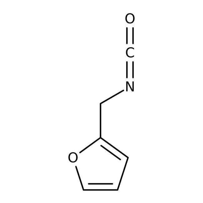 Isocyanate de furfuryle, 97%, ACROS Organics™ 1g Isocyanate de furfuryle, 97%, ACROS Organics™