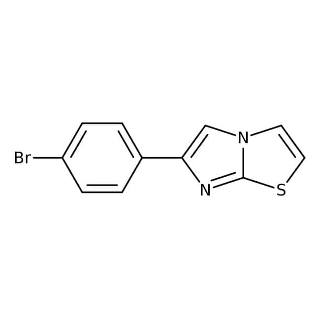 6-(4-Bromophenyl)imidazo[2,1-b]thiazole, Alfa Aesar™: Chemicals Products